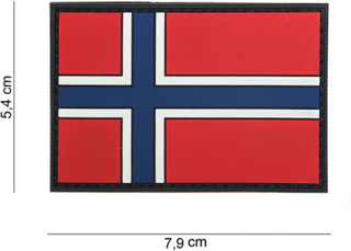 Patch Norsk flagg