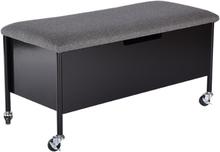 Sture sittbänk med förvaring 90 cm - svart