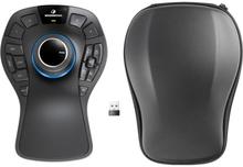 3dconnexion Spacemouse Pro Wireless 3d-hiiri Langaton Musta