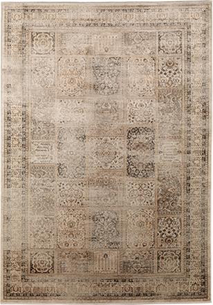 Konstsilkesmatta - Vintage - Ivory - 140x200 cm