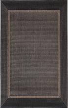 Flatvävd / slätvävd matta - Bodega - Antracit - 200x290 cm