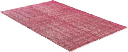 Handknuten matta - Overdyed vintage Rosa - 140x200 cm