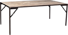 Hastings matbord mangoträd 200 cm - Trä/metall