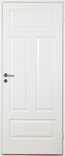 Innerdörr Gotland - Kompakt dörrblad med 4:spegel-indelning Vit (standard) (NCS S 0502-Y)