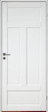 Innerdörr Kungsholmen - Massivt dörrblad med 4:spegel-indelning Vit (standard) (NCS S 0502-Y)