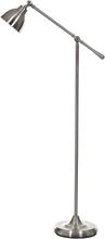 Koft golvlampa - Borstat Stål