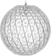 Crystal Globe taklampa (akrylglas)