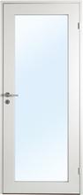 Innerdörr Öland - Massivt dörrblad, 1:spegel helglas Frostat glas