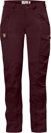Nikka Trousers Curved Tummanpunainen 36