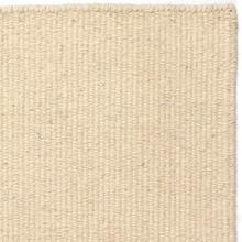 Handvävd matta - Luxor - Vit - Ull - 140x200 cm