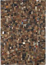 Handgjord matta - Jeans Label - Jeansetiketter - 140x200 cm