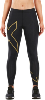 2XU Women's MCS Run Compression Tights Dame treningsbukser Sort XL