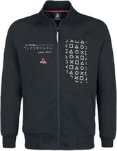 Playstation - Japanese Symbols -Treningsjakke - svart