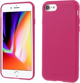 MERCURY GOOSPERY Style Lux Textured Soft TPU Phone Case til iPhone SE 2nd Gen (2020) / 8/7 4.7 tomme