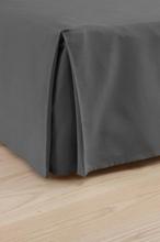COLOUR sängkappa 45 cm - ekologisk Mörkgrå