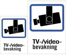 "Sticker ""TV / Video"