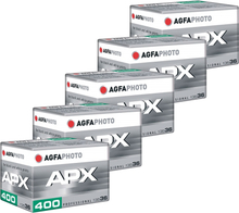 AgfaPhoto 400 APX 135-36 5-Pack, AgfaPhoto