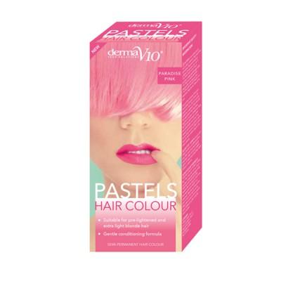 DermaV10 Pastels Hair Colour Paradise Pink 1 kpl
