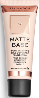Makeup Revolution Matte Base Foundation F3