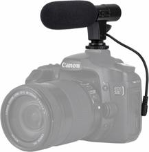 PULUZ 3.5mm Ammattimainen DSLR-haastattelumikrofoni