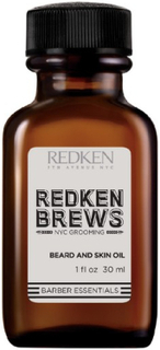 Olie til Skæg Redken Brews Redken (30 ml)