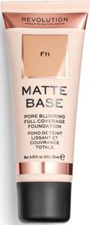 Makeup Revolution Matte Base Foundation F11