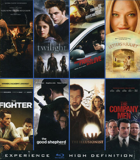 Blu-ray box - 8 filmer (8-disc) (blu-ray) män som hatar, the ill