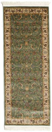 Sarina - Grön matta 80x200 Orientalisk, Avlång Matta