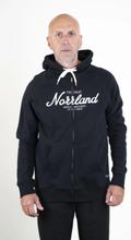 SQRTN Great Norrland Zip- Hood Black