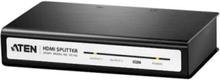 VS182 - video/audiosplitter - 2 portar -