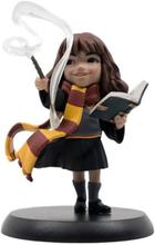 Harry Potter Q-Fig Statyett, - Hermiones First Spell