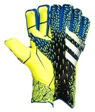 adidas Keeperhanske Predator 20 Pro Fingersave Superlative - Sort/Blå/Gul