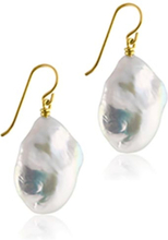 Sophie By Sophie Baroque Earrings – Gold With White Pearl