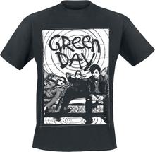 Green Day - Couch Photo -T-skjorte - svart