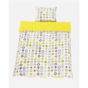 Junior sengetøj, gult, Smallstuff - Babytorvet.dk