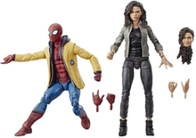 Marvel , Actionfigurer - Spiderman och MJ