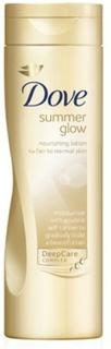 Fuktighetsbevarande brun utan sol-lotion Summer Glow Dove (250 ml)