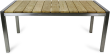 Philadelphia rostfritt trädgårdsbord 180x100cm