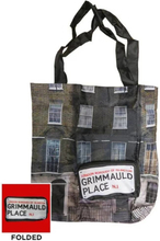 Harry Potter - Grimmauld Place Folding Tote Bag Black/White