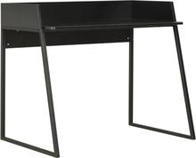 vidaXL skrivebord 90 x 60 x 88 cm sort