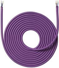 Nielsen Light tygledning 2x0,75 mm², 4 meter, lila