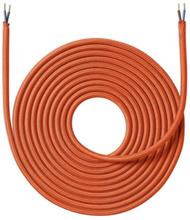 Nielsen Light tygledning 2x0,75 mm², 4 meter, orange