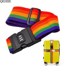 Bags Accessories Luggage Strap Adjustable Password Lock Packing Belt Baggage Secure Lock Anti-theft Luggage Strap Bundling Belt