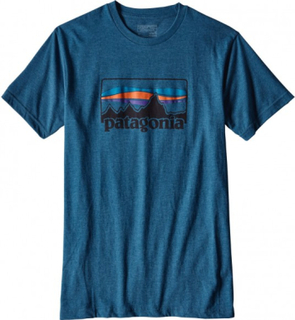 Patagonia - '73 men's Logo t-shirt (blue/red) - S (30)