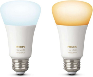 Philips Hue White Ambiance E27 2-pack