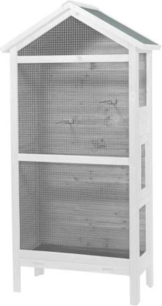 Duvo+ Voljär Asti Cottage 82x40x160 cm trä