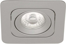 LED DOWNLIGHT 1X6W 550MA SILVE