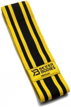 Better Bodies Glute Force Medium, black/yellow, Better Bodies Band & Snoddar heavy