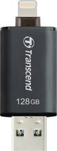 Transcend USB-minne m. Lightning 128GB