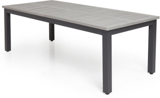 Boarp Matbord 220-280x100 cm - Svart